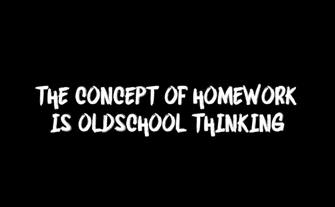 the concept of homework